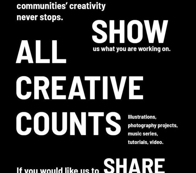 Creativity in Isolation Share your creations with Big Sky…