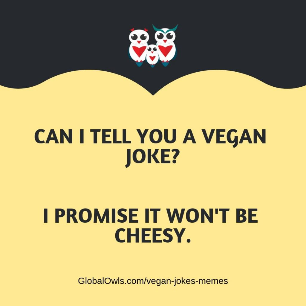 vegan jokes